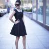 Elegancka sukienka na przyjęcie w bardzo dziewczęcym wydaniu
