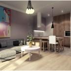 Wtorkowy tour po pięknych wnętrzach, czyli nowoczesne mieszkanie z charakterem w miejskim stylu
