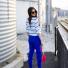 Co założyć do niebieskich spodnii?   Lovingit