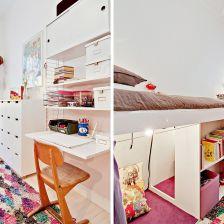 Białe meble w pokoju dzieciecym (27856)