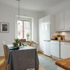 Skandynawskie wnętrze: Przepiękne mieszkanie w Szwecji | lemonize.me (26824)