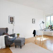 Skandynawskie wnętrze: Przepiękne mieszkanie w Szwecji | lemonize.me (26821)
