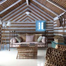 Śródziemnorskie pokoje wypoczynkowe, czyli w nadmorkim domku. (6391)