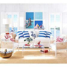Śródziemnorskie pokoje wypoczynkowe, czyli w nadmorkim domku. (6388)