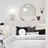 jak udekorować łóżko w stylu skandynawskim ?